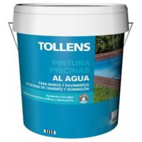 PINTURA PISCINAS AL AGUA TOLLENS 4 LT | Azul Marino 037 - Azul Marino 037