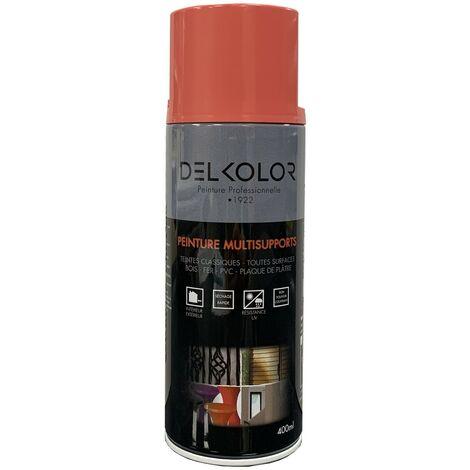 Peinture aérosol Delkolor RAL 3017 Rose 400ml | Couleur: Rose RAL 3017
