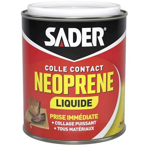 Colle néoprène contact Sader liquide 750ml