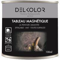 Peinture Tableau Magnétique Noir 100ml   Couleur: Noir