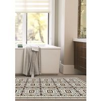 Tapis Vinyle Ludwig Taupe | Taille: 75x190 cm
