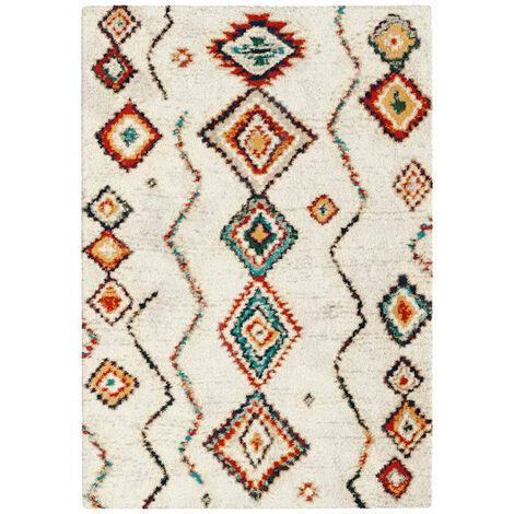 Tapis motif Berbère - Azilal multicolore - 80 x 150 cm