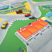 Tapis Vinyle pour les enfants - Circuit Grand Prix F1 - 150 x 200 cm
