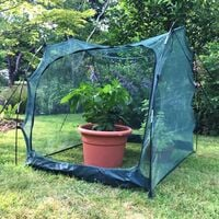 Pro Gro' Net Grow Tunnel Cloche & Plant Cover – 1m long x 1m wide x 1m high