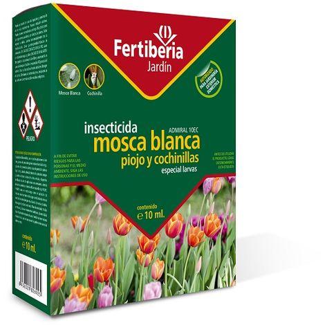 Insecticida Mosca Blanca, Piojo y Cochinillas ADMIRAL 10EC FERTIBERIA (Especial Larvas) 10 ml