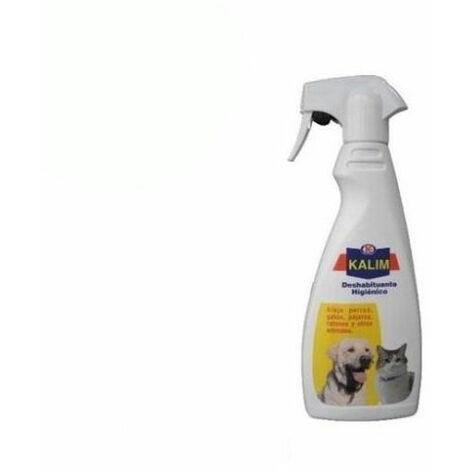 Spray KALIM 500ml deshabituante higiénico para alejar perros, gatos, pájaros, ratones y otros