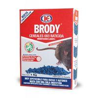 Brody Cereales 003 - Veneno Mata Ratas en Grano - 1 kg