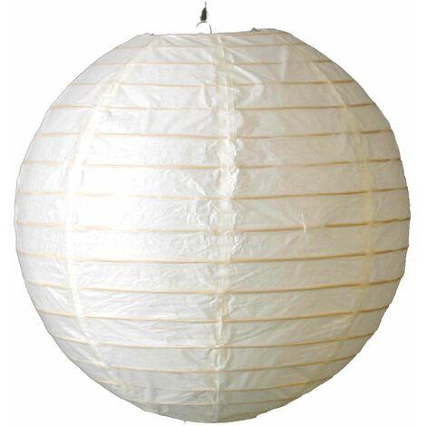 Colgante Papel Redondo 60 cm Color: Blanco - Blanco