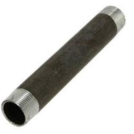 """Bobine acier noir longueur 200mm Mâle 1"""""""