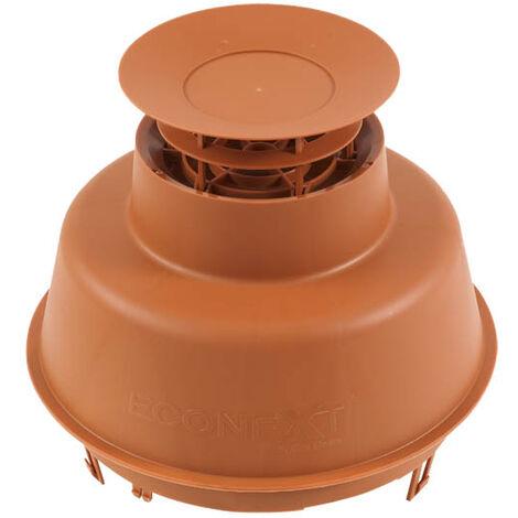 Mitron cheminée EcoNext brun pour PPflex Ø80mm
