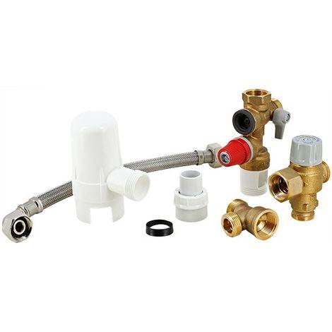 Kit de sécurité chauffe-eau STANDARD complet - 3/4
