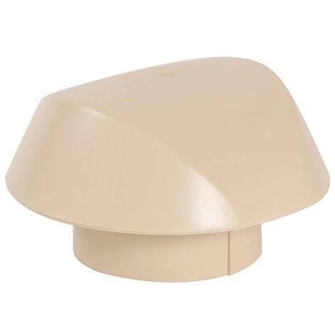 Chapeau de ventilation sans moustiquaire Ø100 sable