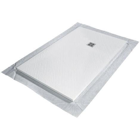 Receveur de douche VENISIO résine Blanc grille carrée - 1850x900