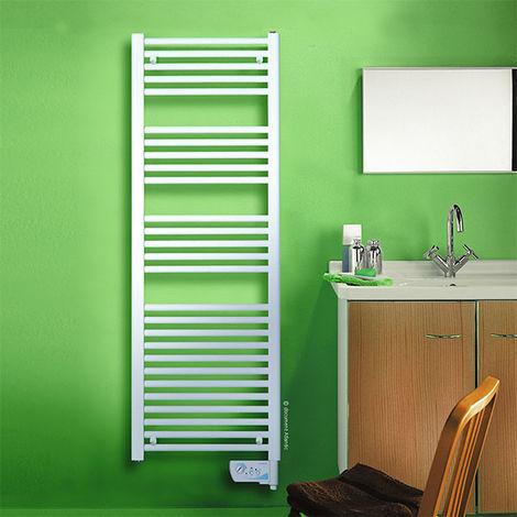 Sèche-serviettes électrique blanc 2012 étroit 300W
