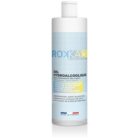 Gel HydroAlcoolique ROKKA, Flacon 250 ml