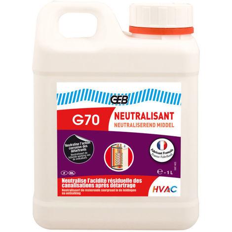 G70 Neutralisant des canalisations après détartrage Bidon 1L