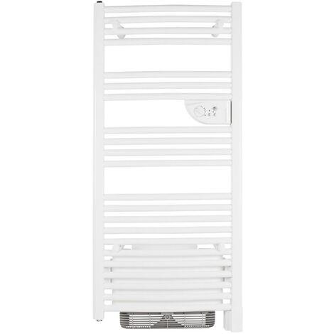 Sèche-serviette DORIS digital Electrique+ventilo 500W+1000W blanc