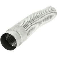 Gaine aluminium étirable 1m50 spécial gaz Ø97-103