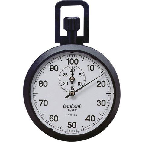 Chronomètre de précision à couronne 1/100 sec. 30 min. Hanhart