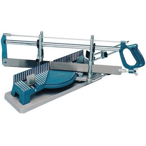 Scie à onglet de précision, Taille de la lame : 550 x 45 mm, Larg. : de coupe à 45° 110 mm, Larg. : de coupe à 90° 160 mm, Hauteur de coupe : 120 mm