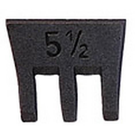Coin pour marteau SFIX taille 2 23mm Steinmetz 1 PCS