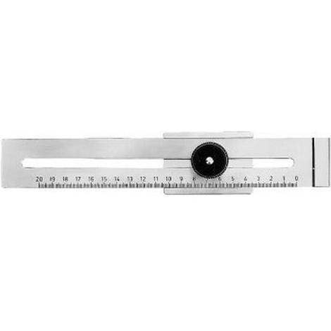 Trusquin à tracer de précision, Plage de mesure : 200 mm