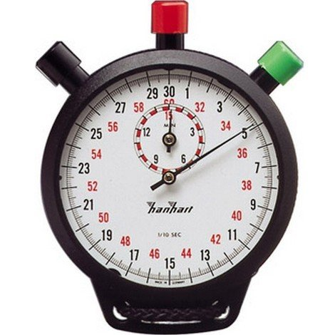 Chronomètre de précision à addition, Graduation : 1/10 s, Durée d'affichage  15 min, Poids 85 g - 4256902050