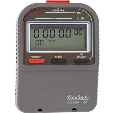 Chronomètre numérique Accord, Affichage LCD : Affichage simple, Durée d'affichage 99999.99 min, Mémoire 60, Poids : 90 g