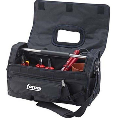 Trousse à outils en nylon avec fermeture à scratchs, Dimensions intérieures : 480 x 220 x 285 mm, Volume environ 30 l, Poids 2800 g