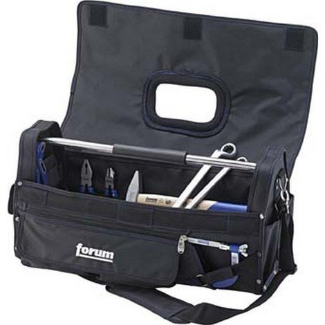Trousse à outils en nylon avec fermeture à scratchs, Dimensions intérieures : 550 x 220 x 285 mm, Volume environ 34 l, Poids 3000 g