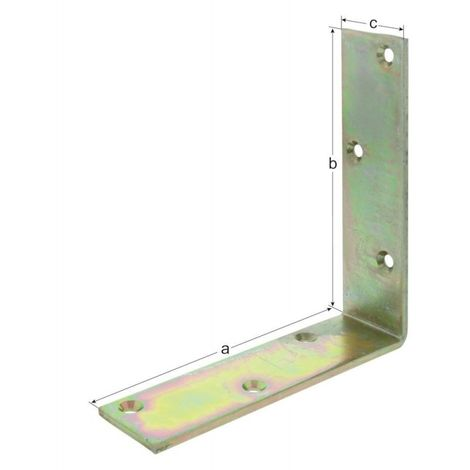 Equerre d'angle K2 150x150x40x5 mm
