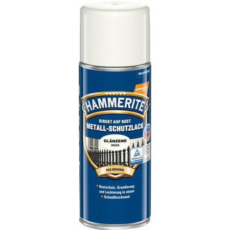 MSL brillant blanc Peinture de protection en aérosol 400ml HT (Par 6)