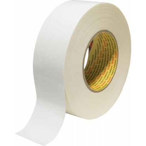 Bande de tissue 389 blanc 25mmX50m Scotch (Par 36)