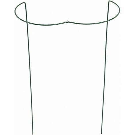 Support plante / fleur 70 cm vert pliable (Par 10)