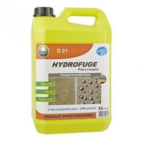 Hydrofuge Dalep D21 - Anti-taches pour pierre et toiture - 5 litres - 221 005