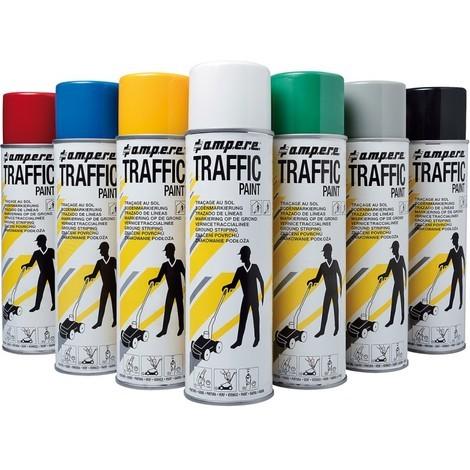 Spray de marquage au sol Traffic 500ml rouge (Par 12)