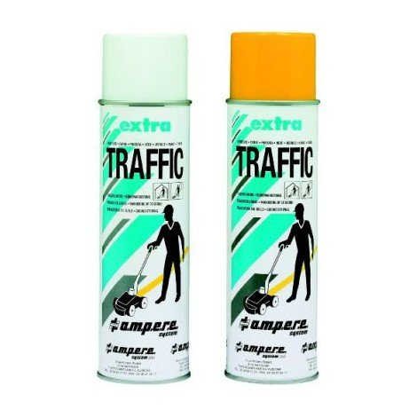 Spray de marquage au sol Traffic Extra 500ml blanc (Par 12)