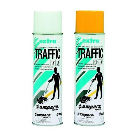 Spray de marquage au sol Traffic Extra 500ml jaune (Par 12)