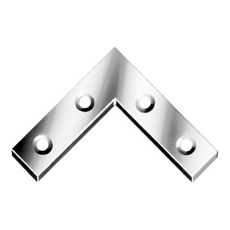 Equerre angle Galv. 75x12mm Nr. 186075Z (Par 100)