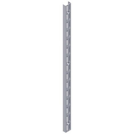 Crémaillère double perforation 2060mm EL32 2 rhg. (Par 10)