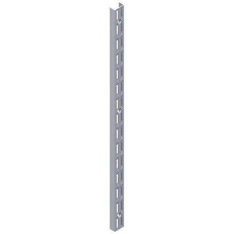 Crémaillère double perforation 2290mm EL32 2 rhg. (Par 10)