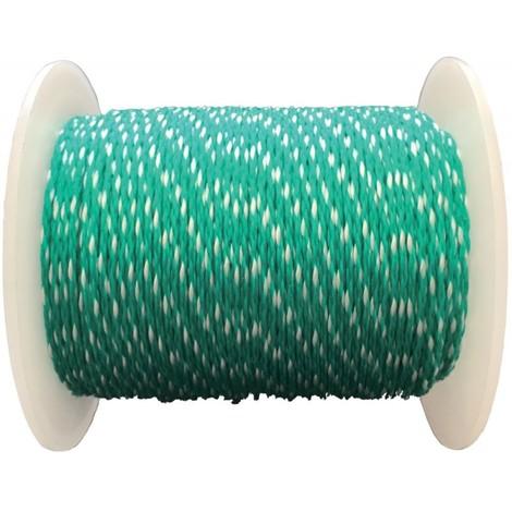 Cordeaux macon PP 1,0mm 100m vert Overmann