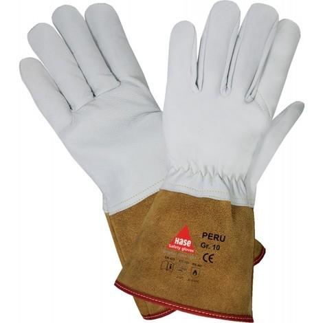 Gants de soudure PERU, cuir Nappa, Gr.10 (Par 10)