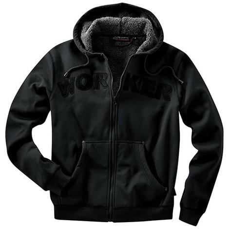 Veste capuche Taille XXL, noir