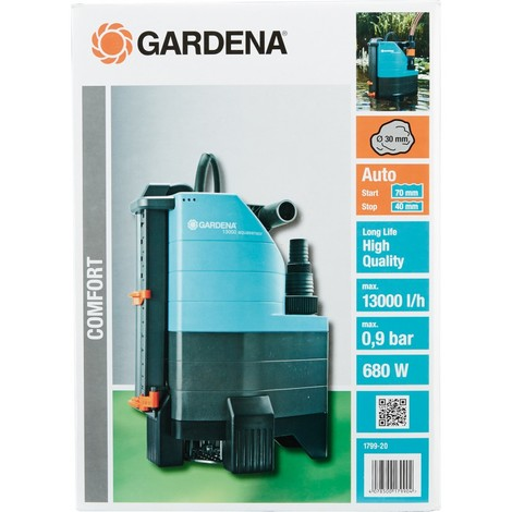 Photo de gardena-pompe-eaux-chargees-aquasensor-13000-comfort