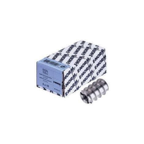 Insert filté DIN 7965 ST m. Schlitz M5x10x10HP(RAMPA) (Par 50)