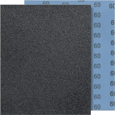 Toile abrasive 230x280mm G180 bleu FORTIS 1 PCS