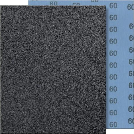 Toile abrasive 230x280mm G60 bleu FORTIS 1 PCS