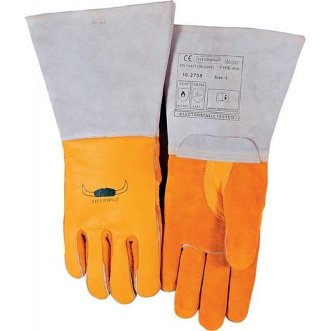 Gants de soudure jaune Taille XL 1paires WELDAS