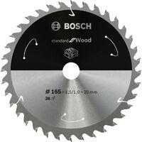 Lame de scie circulaire 165x1.5/1x20 Z 36 Bosch